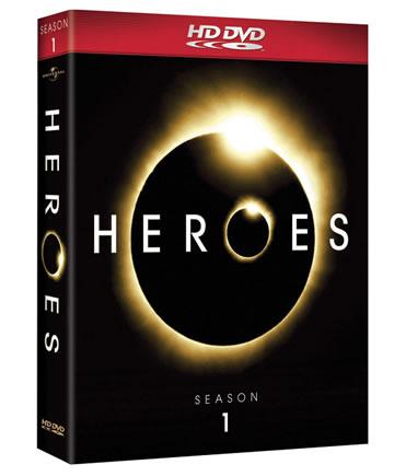 Heroes - Season 1 Complete HD DVD Box Set
