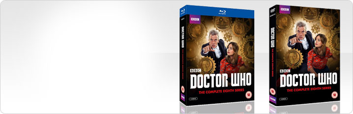 Doctor Who Series 8 DVD and Blu-ray