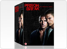 Prison Break 1-4 DVD Box Sets