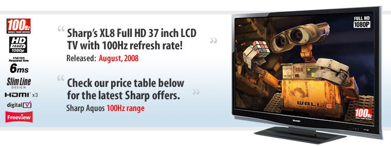 Sharp Aquos Lc 37xl8e 37 Inch Full Hd 1080p Lcd Tv Dvd Collections