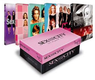 Sex and the city shoe box set