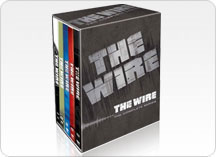 The Wire Seasons 1-5 DVD